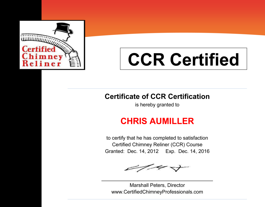 Certificate---CCR