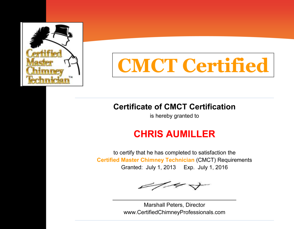 Certificate---CMCT